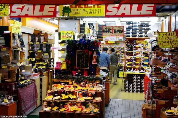 Merry Xmas Shoe Sale in Harajuku