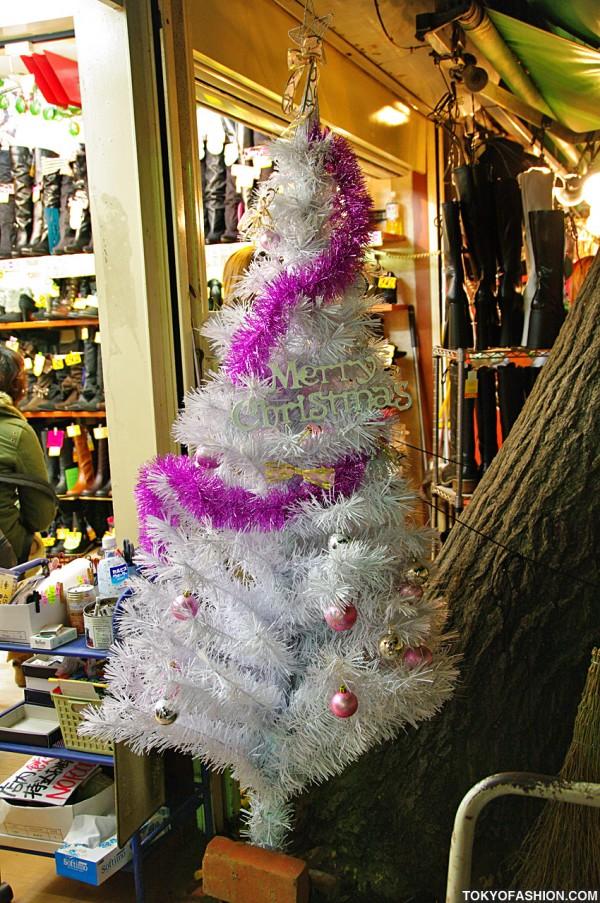 Takeshita Dori Christmas Tree