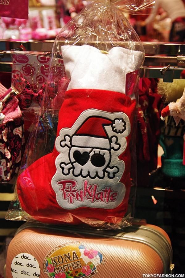 Pink Latte Chrismtas Stocking