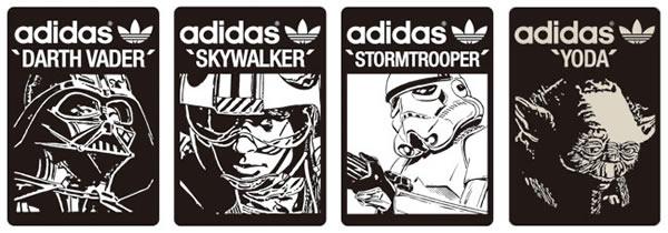 Star Wars x Adidas Billboards on Atmos Harajuku