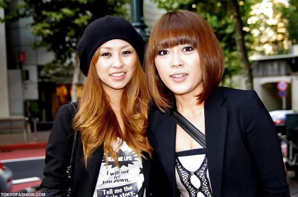 Blonde Girls Shibuya
