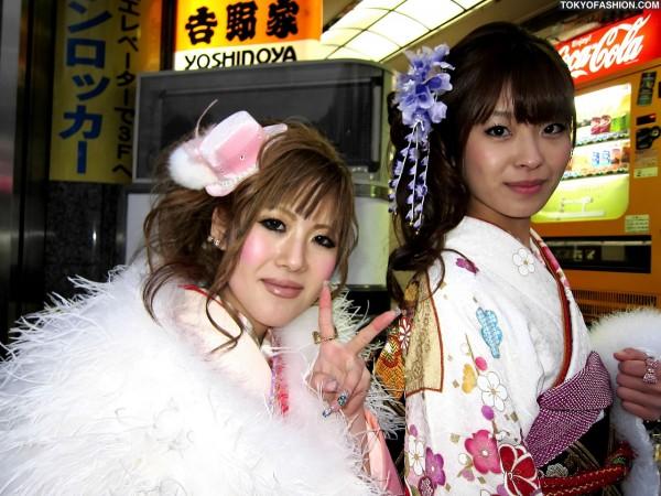 Kimono & A Cute Hat