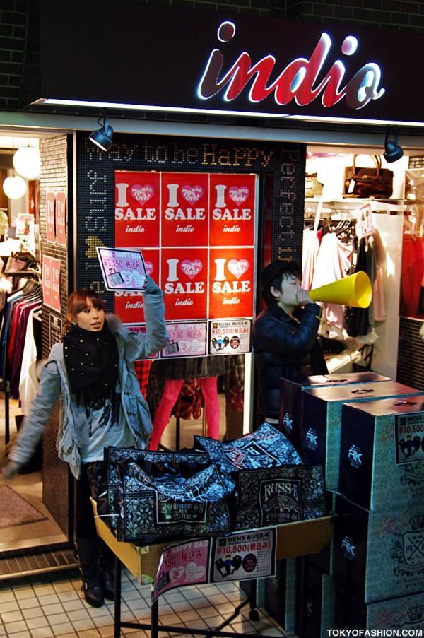 Indio Harajuku Sale
