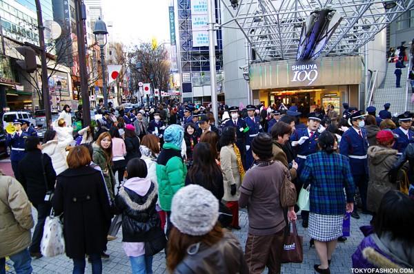 Shibuya 109 Crowds