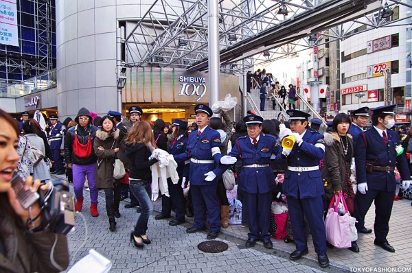 Shibuya 109 Security
