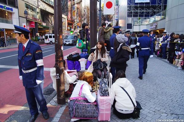 Girls at Shibuya 109