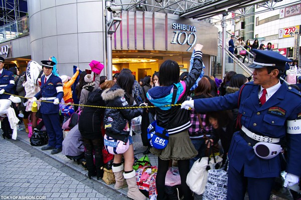 Shibuya 109 New Years Sale