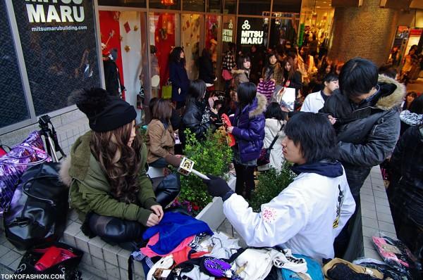 Girls With Clothing at Shibuya 109