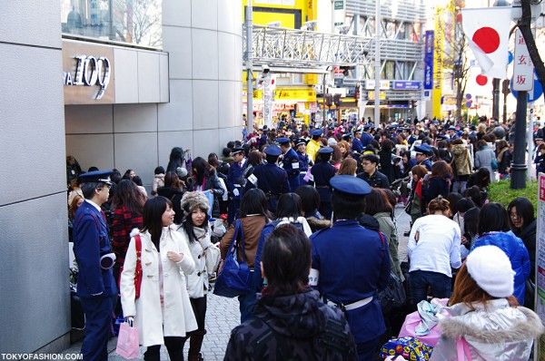 Huge Crowd in Shibuya