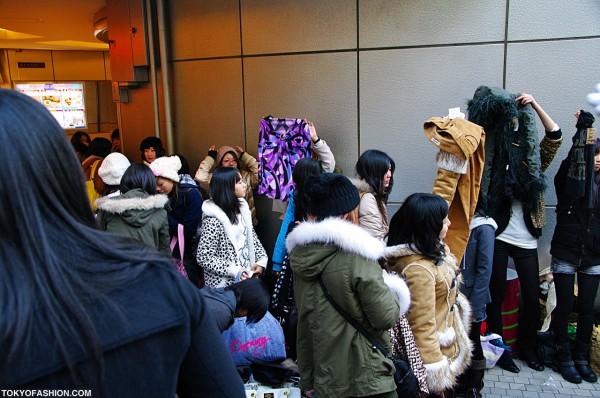 Mayhem in Shibuya