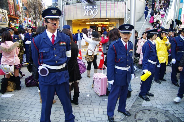 Japanese Security Guards