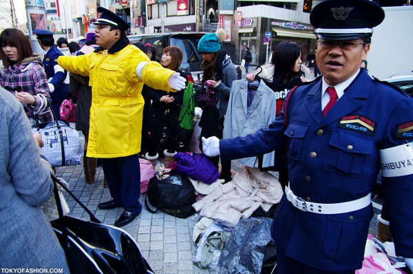 More Security at Shibuya 109