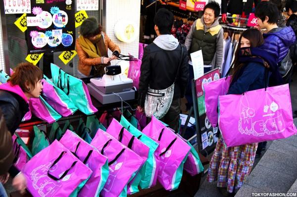 WEGO Harajuku Sale