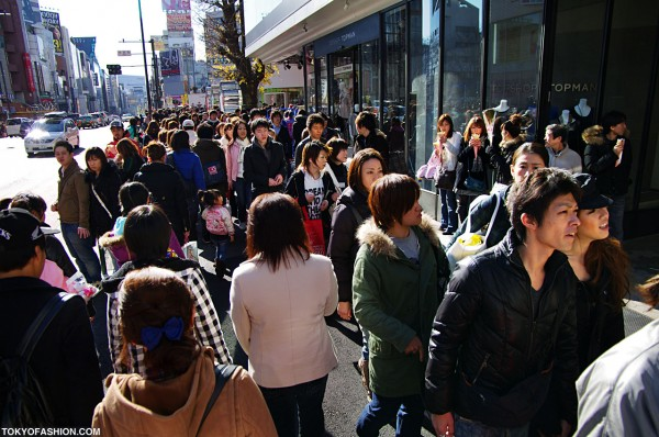 LaForet Harajuku Crowds