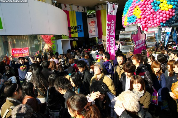 LaForet Harajuku Sale Time