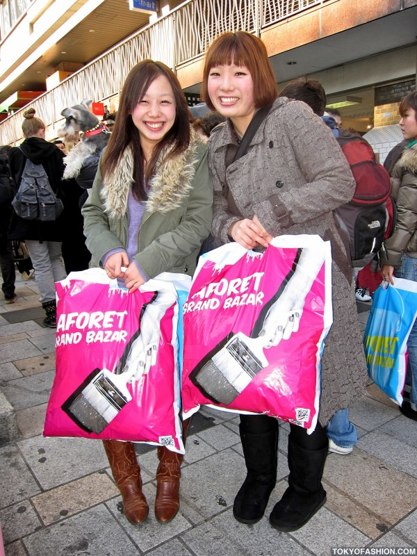 Happy LaForet Shoppers