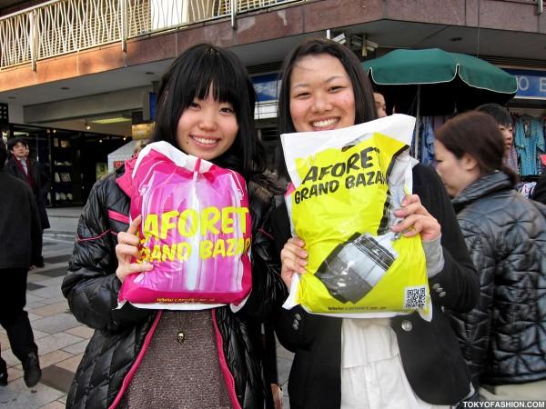 Friendly Japanese Girls in Harajuku