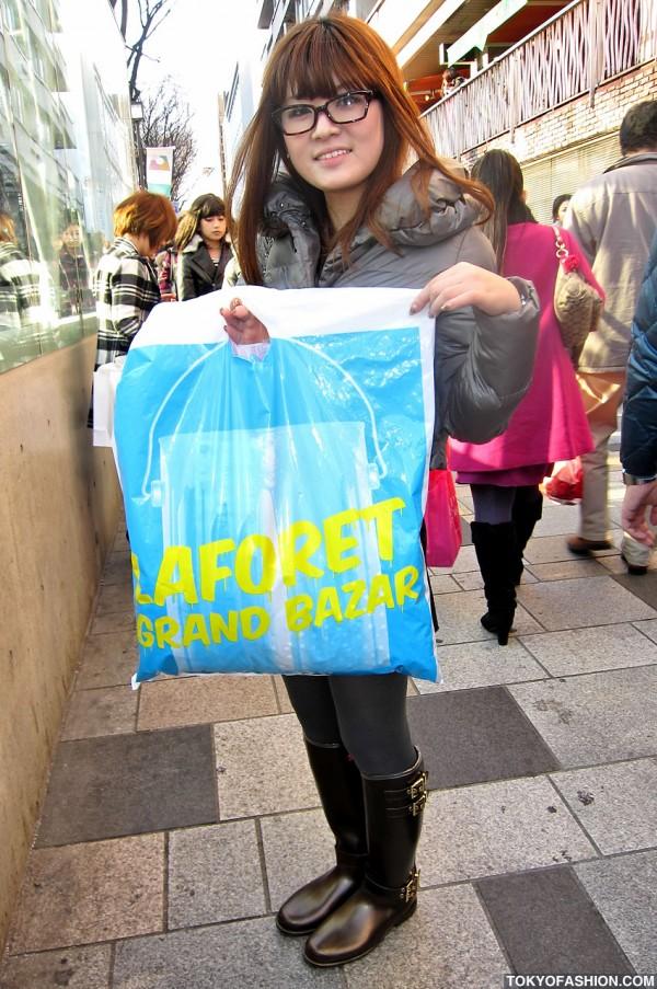 LaForet Harajuku Shopping Bag