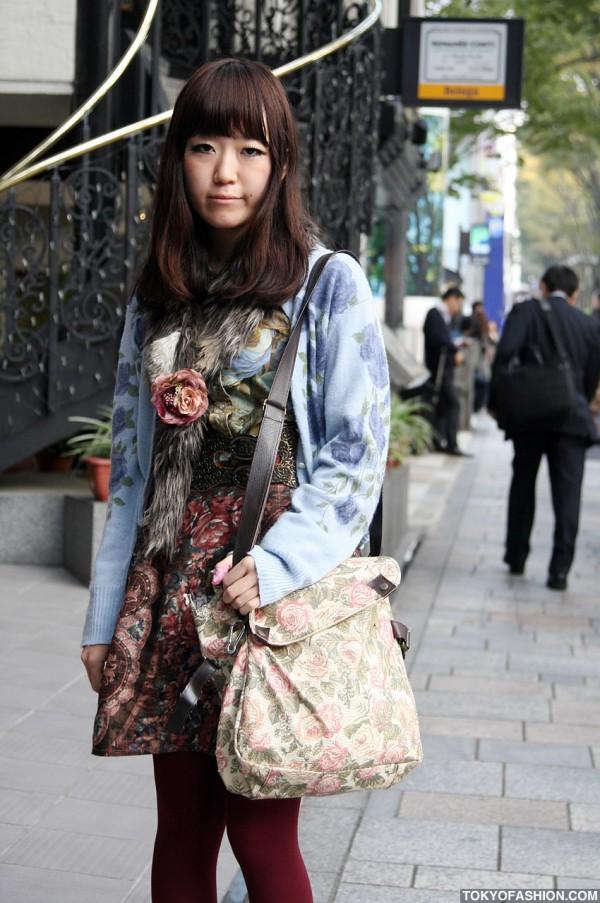 Flower Bag in Harajuku