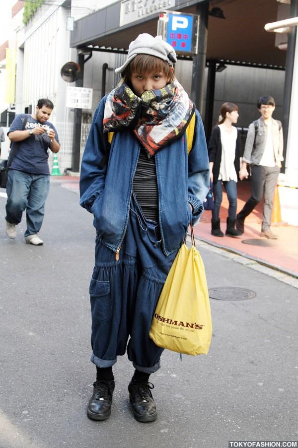 Denim Jumper & Denim Jacket in Harajuku
