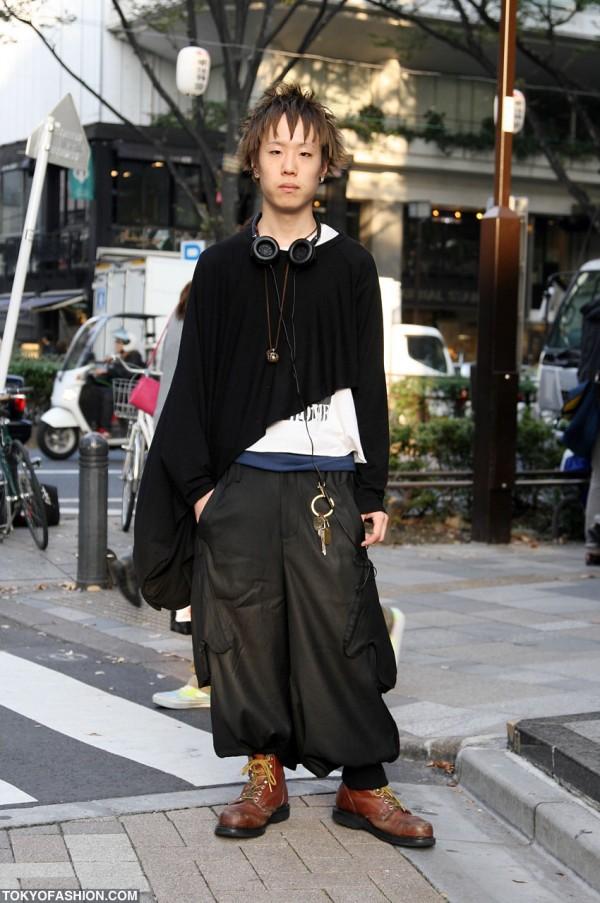 Cool Harajuku Men's Fashion