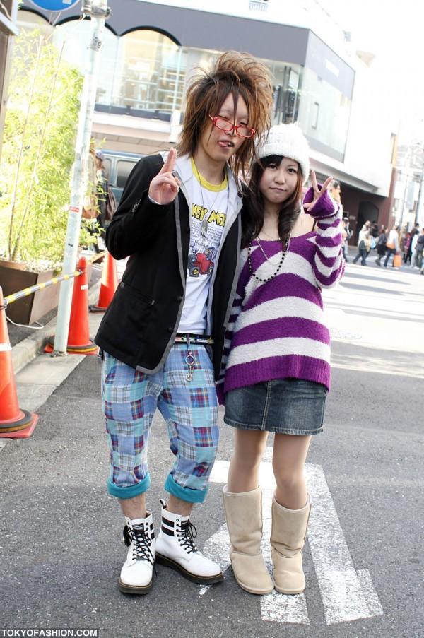 Cute Japanese Style in Harajuku