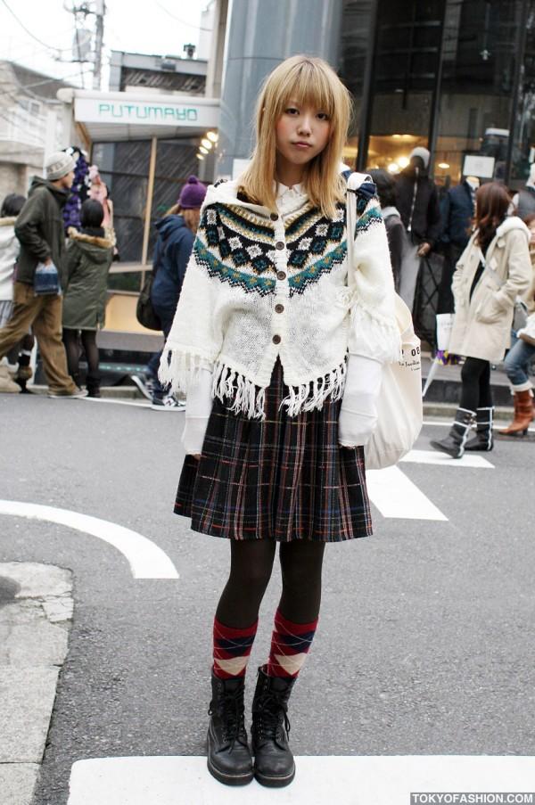Pretty Blonde Japanese Girl
