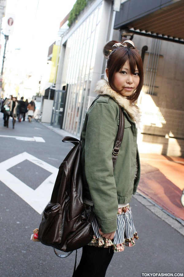 Military Style Green Jacket