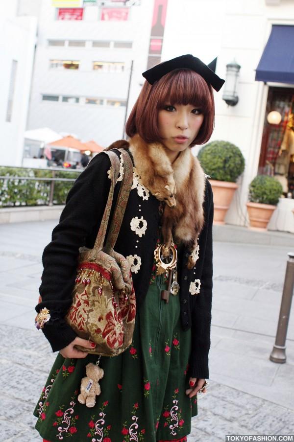 Vintage Inspired Harajuku Fashion