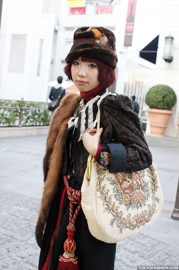 Harajuku Vintage Fashion Girl