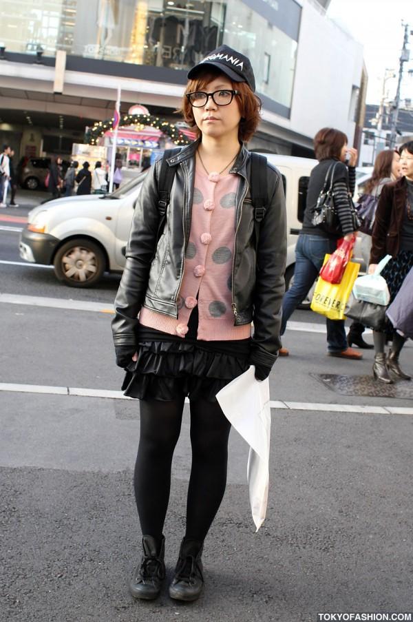 """World Wide Love """"Pyromania"""" Girl in Harajuku"""