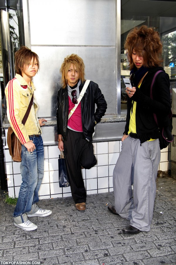 Three Shibuya Guys