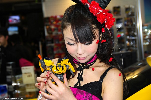 Transformer Toy & Japanese Girl