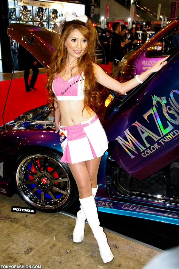Pretty Japanese Car Show Girl