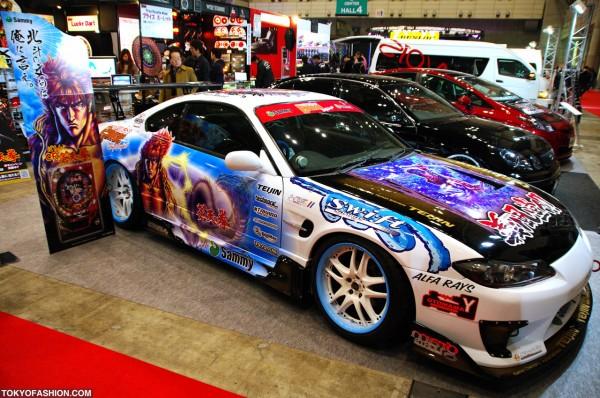 Tokyo Auto Salon Sega Sammy Car