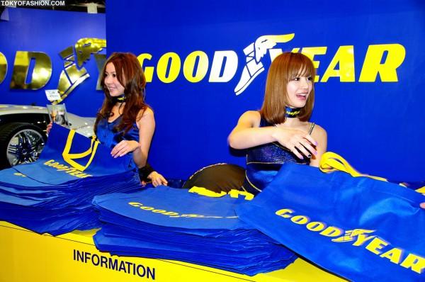 Tokyo Auto Salon Booth Girls