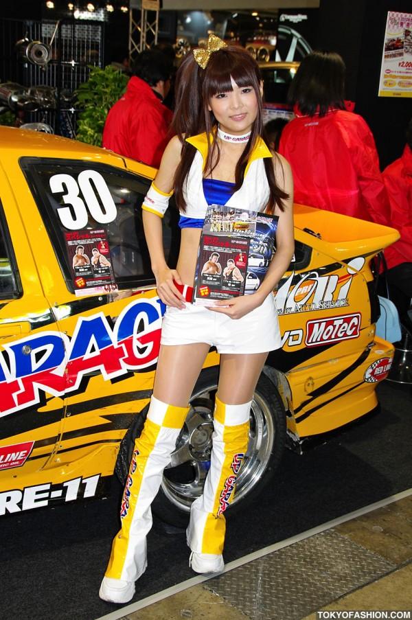 Tokyo Auto Salon Campaign Girl