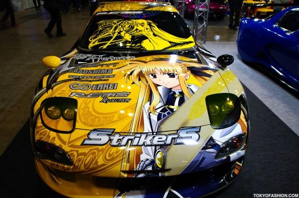 Tokyo Auto Salon Anime Art Car
