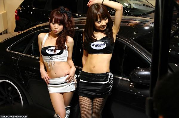 Tokyo Auto Salon Campaign Girls