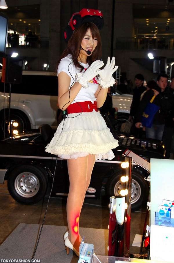 Tokyo Auto Salon Booth Babe