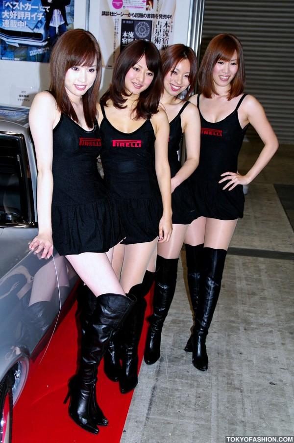 Japanese Girls at Tokyo Auto Salon