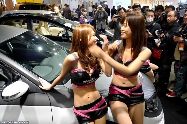 Tokyo Auto Salon Booth Babes