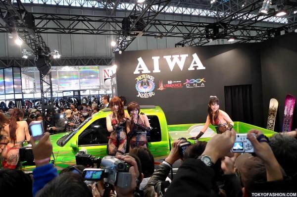 Tokyo Auto Salon Girls & Cars
