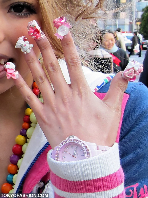 NailsByStephanie: Japanese Kawaii Harajuku Nail Art