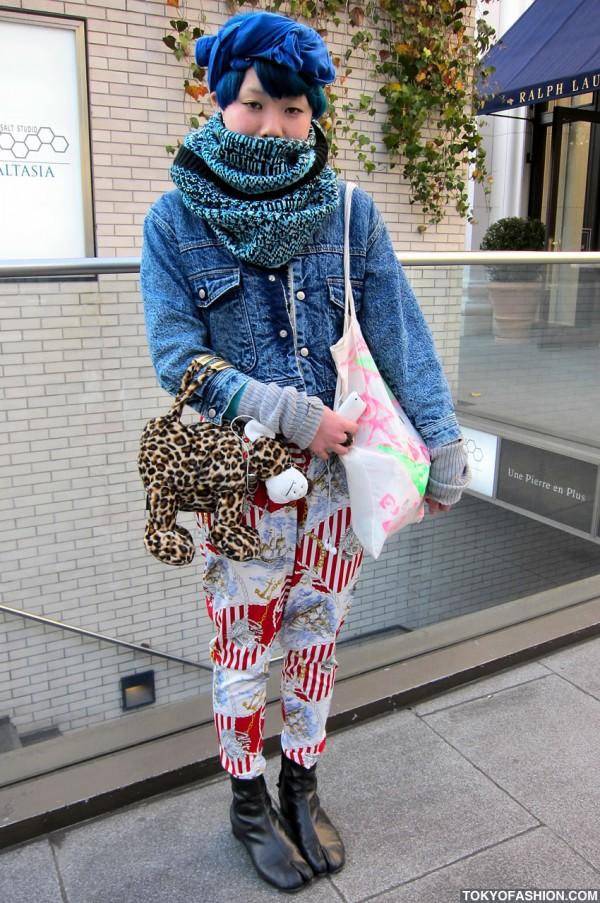 Denim Jacket Japanese Girl