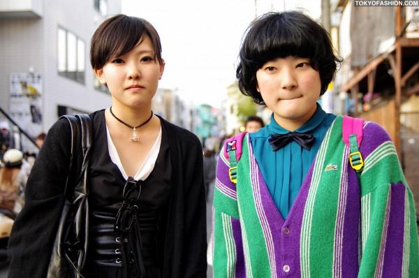 Two Cute Girls in Harajuku