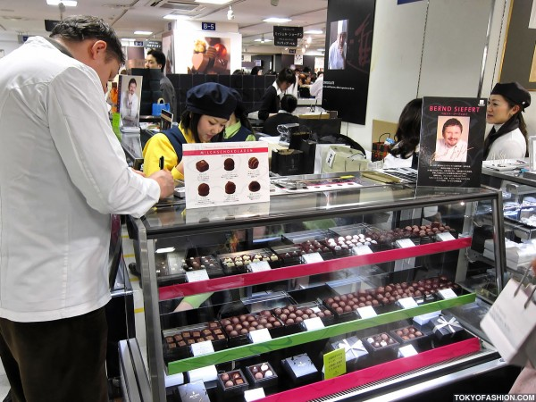 Bernd Siefert at Salon du Chocolat