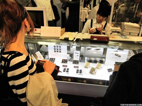 Japanese Girls at Salon du Chocolat