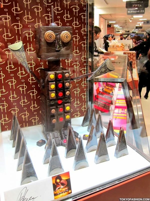 Chocolate Robot in Tokyo