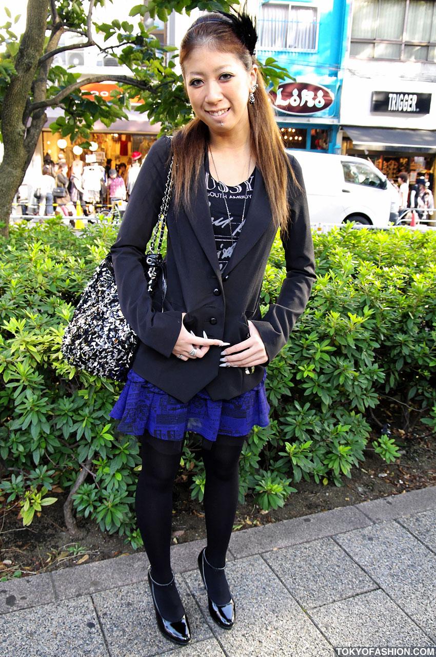 Smiley Shibuya Girl